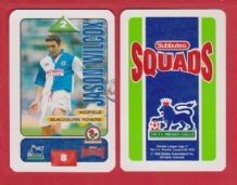Blackburn Rovers Jason Wilcox England S95